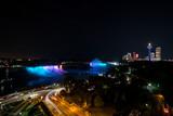 Chutes du Niagara de nuit