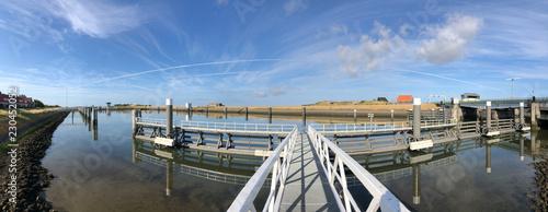 Panorama from the Lorentz Locks in Kornwerderzand - 230452052