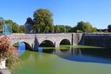 Chateau de Sully-sur-Loire, france, bridge, river, water, architecture, Loire Valley, stone, landmark, history, historic,