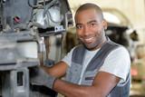 Portrait of industrial mechanic - 230462444