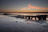 Sunrise at the Waddenzee