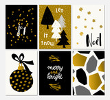Christmas Greeting Card Design - 230472213