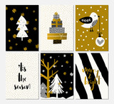 Christmas Greeting Cards Set - 230473688