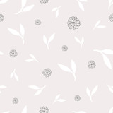 Delicate Floral Pattern - 230474852