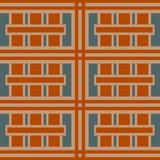Retro geometric seamless repeat pattern - 230490404