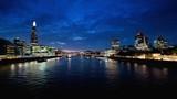 hyper lapse of sunset, London skyline from the Tower Bridge, UK - 230501214