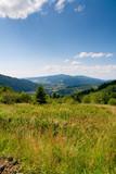 Landscape of Pieniny mountains