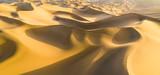 golden sand dunes panorama - 230538488
