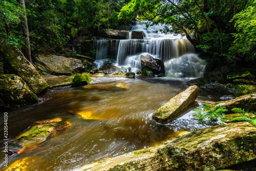 Smooth waterfall  - 230544030