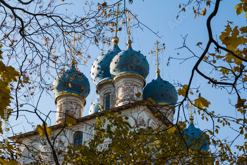 Church of the Kazan Icon of the Mother of God in Kolomenskoye park in Moscow, Russia - 230554810