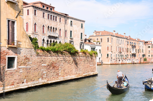 canal in venice, digital photo picture as a background - 230560244