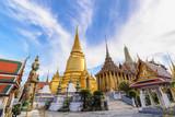 Bangkok Thailand, city skyline at Wat Phra Kaew temple - 230567076