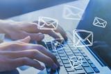 Email marketing concept. Sending newsletter. - 230581297