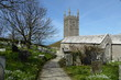 Leinwanddruck Bild - Morwenstow Church, Cornwall