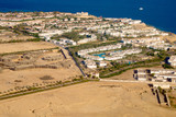 Egypt from bird's-eye view, hotel building and red sea - 230584266