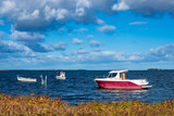 Boote auf der Ostsee in Dänemark - 230595860