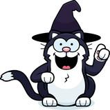 Cartoon Little Witch Cat Idea