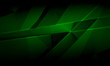 Abstract dark green background, polygonal brushed texture