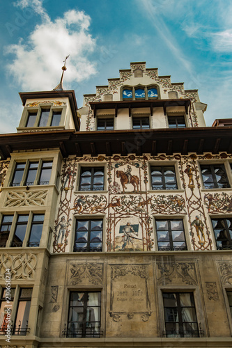 Traditional building from Lucerne