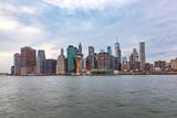 skyline of New York from river Hudson - 230660697