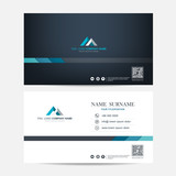 Business card vector background - 230661081
