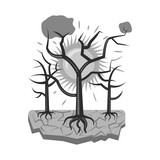 Vector design of natural and disaster symbol. Collection of natural and risk stock symbol for web. - 230672636