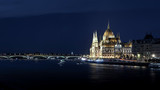 view of Budapest at night - 230694267