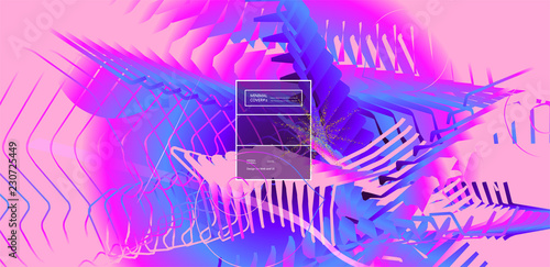 Fluid color background. Liquid shape . Eps10 vector. - 230725449