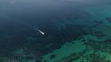 Boat sailing in Clear Aegean Sea Waters - 230726406