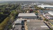 Fly over the business park on the right hand side of A1235 road in Basildon