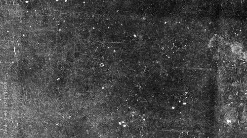 Leinwandbild Motiv Textured old dark vintage surface with white scratches