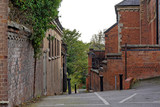 Short side street in the center of the old town in Sutton Coldfield, UK - 230771442