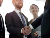 business leader shaking hands with the investor - 230787626