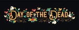 Day of the dead mexican celebration web banner - 230789247