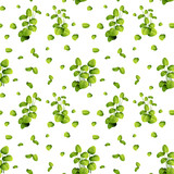 Beautiful leaf on seamless pattern - 230796018