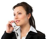 Businesswoman at the telephone - 230818450