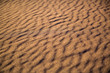 canvas print picture - fantastic texture with shadows in the sand desert