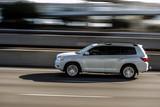 Car in a motion blur