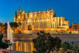 Mallorca | Palma de Mallorca | Cathedral of Saint Mary at dusk  |  2469
