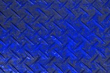 blue design antiskid plate texture - nice abstract photo background - 230856424