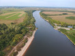 View of the great Oka river from a height - 230865462