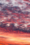 Colorful sunset sky over tranquil sea surface - 230884441