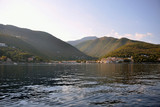 Croatia. View from the sea on the town Moscenicka Draga - 230900811