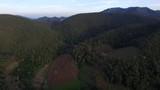 mountainous terrain aerial in North of Thailand - 230921054