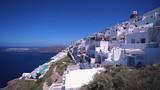 The village of imerovigli on the island of santorini, greece. - 230929045