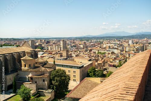 Aufnahmen von Girona in Katalonien Spanien - 230931404