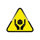 Fragile sign icon - 230965495