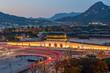 Gyeongbokgung palace in autumn at seoul south Korea  - 230975668