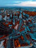 Warsaw morning panorama - 230986461
