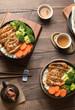 chicken teriyaki food set - 230987610